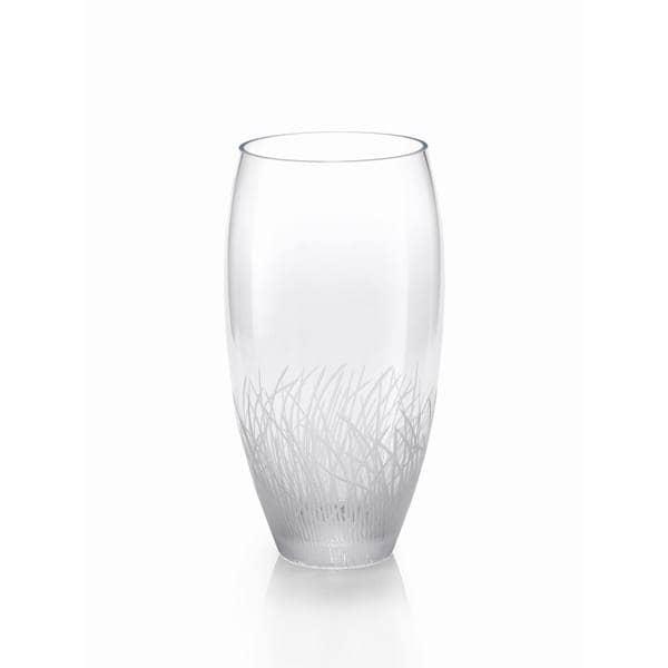 Oval Glass Vase 19378140