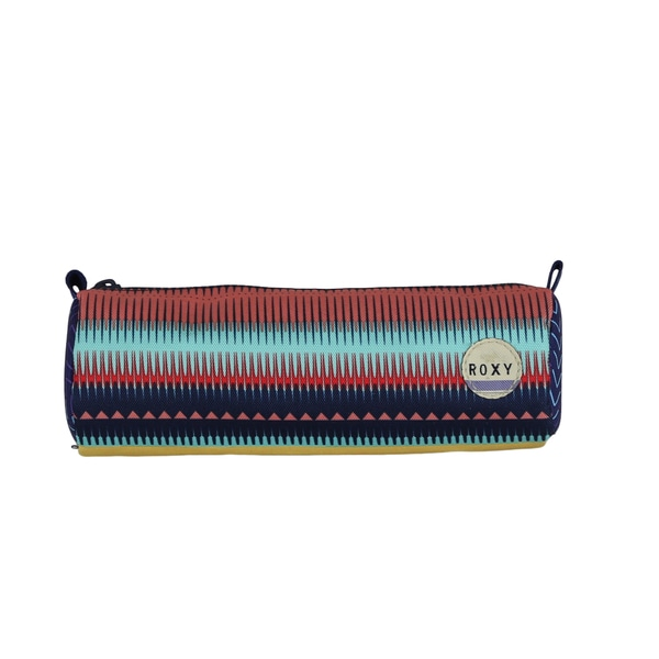 Roxy Charm School Jagged Stripes Pencil Case