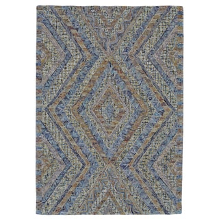 Grand Bazaar Iona Tufted Confetti Wool/Cotton Stain-resistant Rug (3'6 x 5'6)