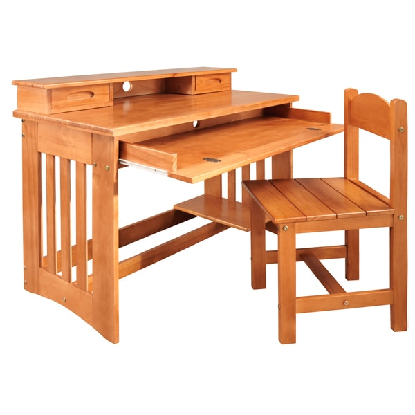 and Chair - 18953217 - Overstock.com Shopping - Great Deals on Desks