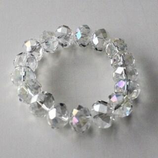 Clear AB Swarovski Crystal Bracelet