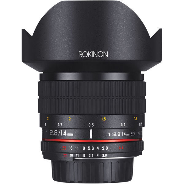 Rokinon 14mm f/2.8 IF ED UMC Lens For Canon EF