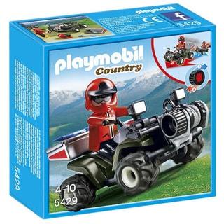 Playmobil 5429 Mountain Rescue Quad Playset