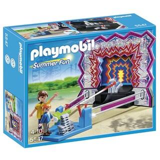 Playmobil Summer Fun Tin Can Shooting Game