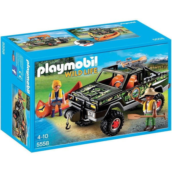 Playmobil Wild Life Adventure Pickup Truck
