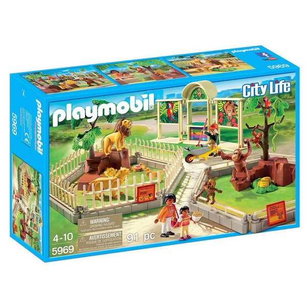 Playmobil 5969 City Life Large Zoo for Kids 4 to 10 19380105