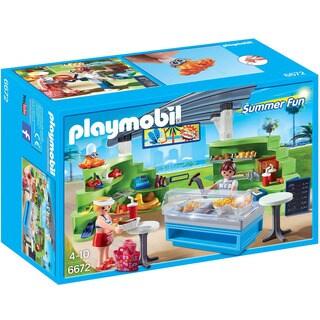 Playmobil 6672 Summer Fun Splish-Splash Cafe for Kids 4 to 10