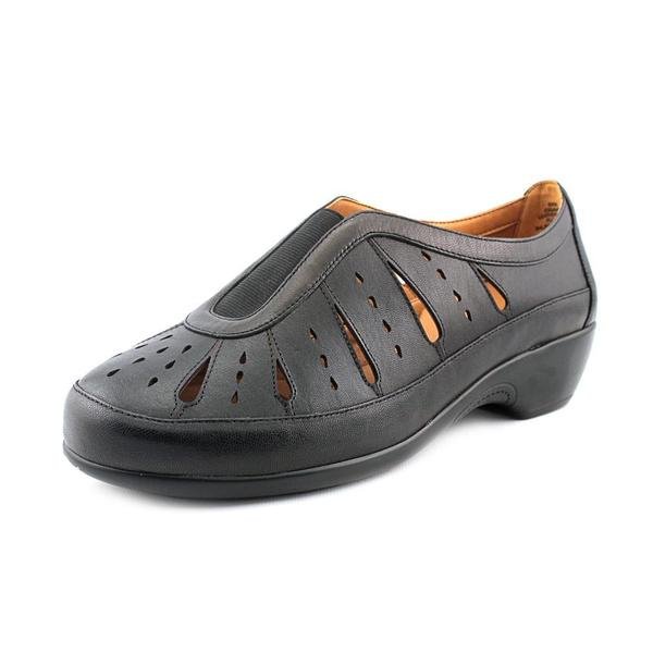 Easy Spirit Women's Gavra Black Leather Casual Shoes