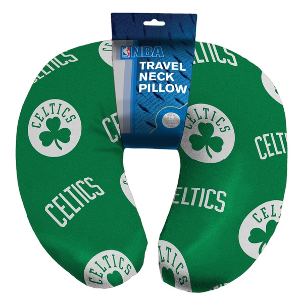 The Northwest Company NBA 117 Celtics Neck Pillow