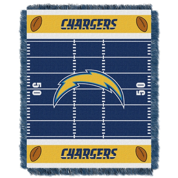 NFL 04401 Chargers Field Baby Throw 19381441