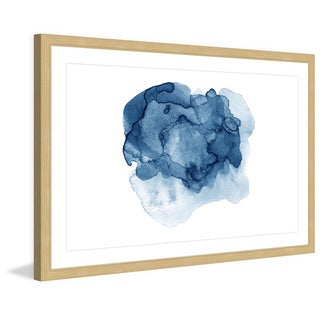 Marmont Hill 'Ephemeral Liquid' Framed Painting Print