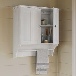 RiverRidge Ashland Collection MDF 2-door Wall Cabinet