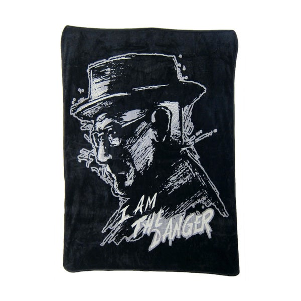 Breaking Bad Danger Black Throw