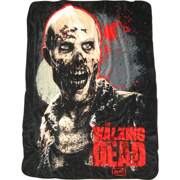The Walking Dead Zombie Throw
