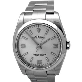 Rolex Stainless Steel Water Resistant Pre-owned Watch