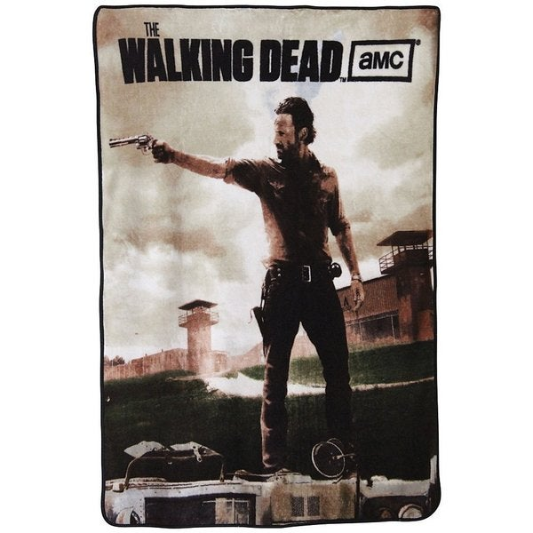 The Walking Dead Rick Throw