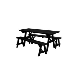 94-inch Traditional Table with 2 Benches
