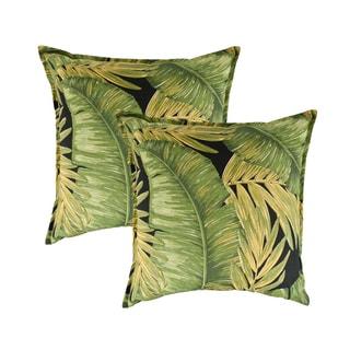 Sherry Kline Rainforest Print 22-inch Decorative Pillow (set of 2)