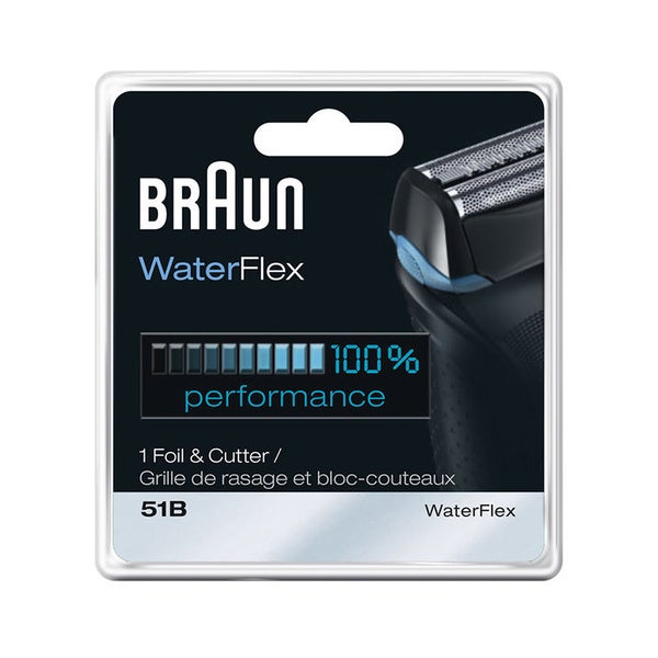 Braun 51B WaterFlex Shaver Foil and Cutter Combo
