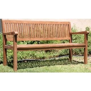 Caracas 59-inch Teak Garden Bench