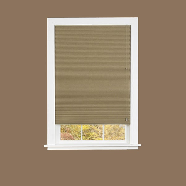 Honeycomb Mocha Cellular Pleated Shade