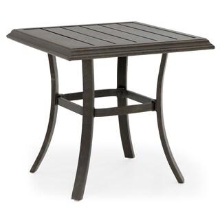 BK Square Bronze End Table