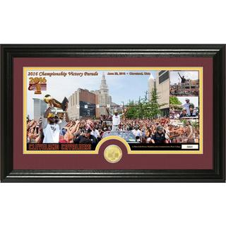 Cleveland Cavaliers 2016 NBA Champions Parade Bronze Coin Pano Photo Mint