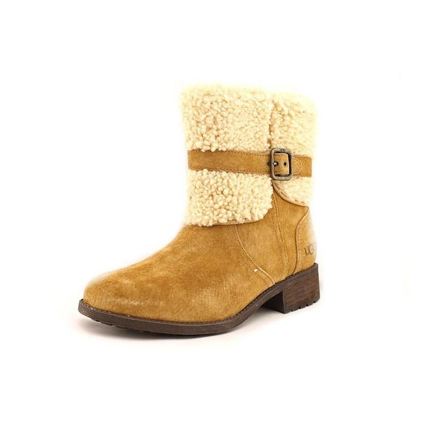 Ugg Australia Women's Blayre II Tan Leather Boots