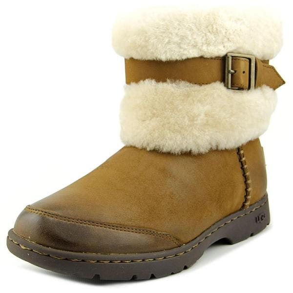 Ugg Australia Women's Brielle Brown Leather Boots