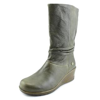Keen Women's 'Kate Slouch' Green Leather Boots
