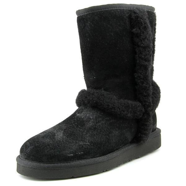 UGG Australia Women's 'Carter' Black Regular Suede Boots