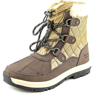 Bearpaw Women's 'Bethany' Gold Suede Boots