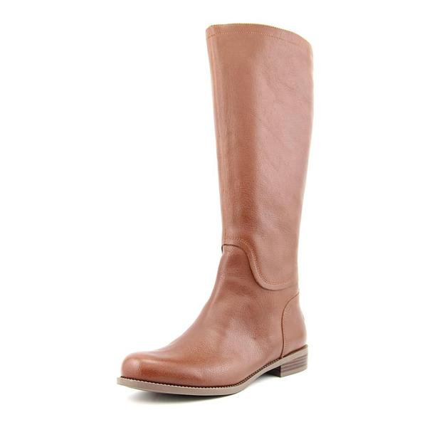 Nine West Women's Contigua Tan Leather Knee-high Boots