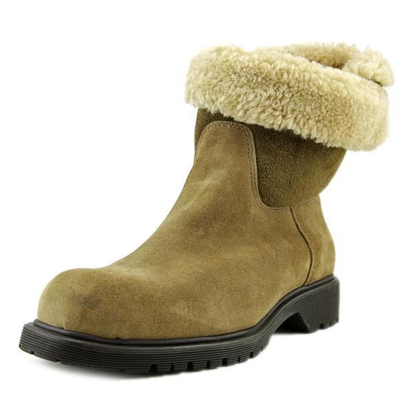 La Canadienne Women's 'Honey' Tan Regular Suede Ankle Boots