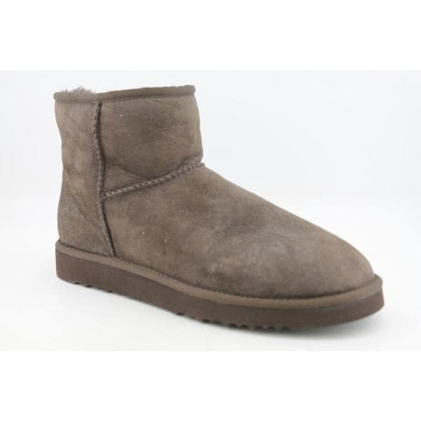 Ugg Australia Women's Classic Mini Regular Brown Suede Boots