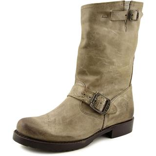 Frye Women's Veronica Short Grey Leather Boots