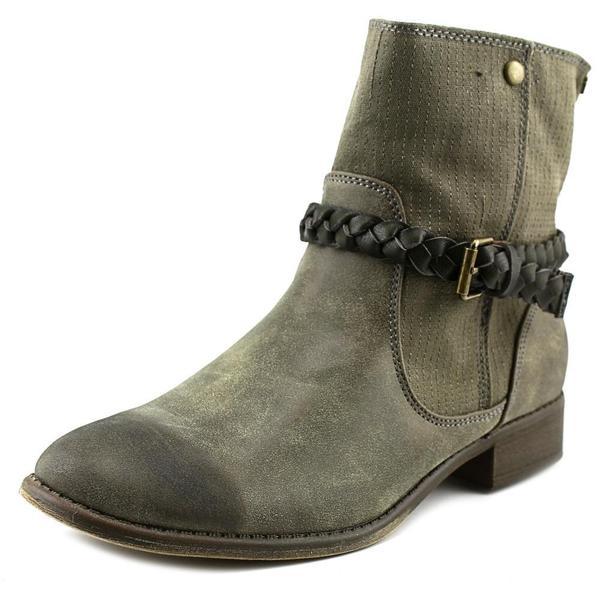 Roxy Women's Skye Brown Faux Leather Boots