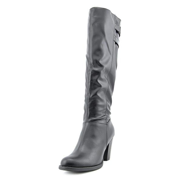 Pink & Pepper Women's Avenue Black Faux Leather Boots
