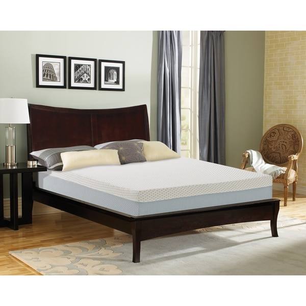 Sleep Sync 9-inch Full-size Synthetic Latex Foam Mattress