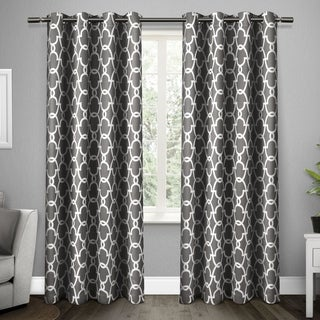 ATI Home Gates Blackout Thermal Grommet Top Window Curtain Panel Pair (84-inch - 96-inch Lengths)