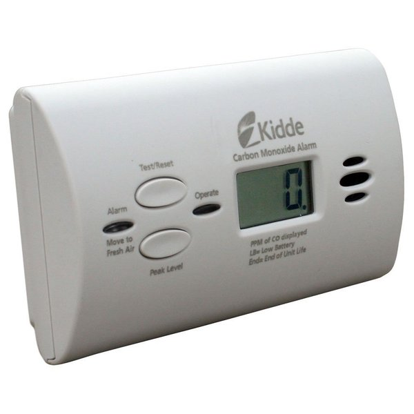 Kidde 21008873-2 KN-COPP-B-LPM Battery-operated Carbon Monoxide Alarm With Digital Display
