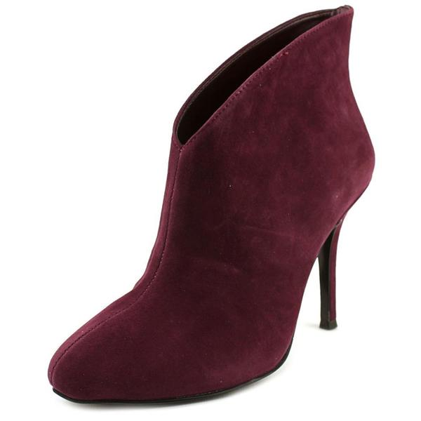 Vince Camuto Women's Caden Regular Red Suede Boots