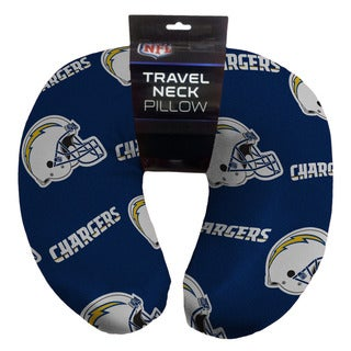 The Northwest Company NFL 117 Chargers Beaded Neck Pillow