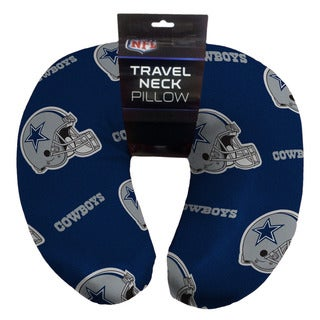 The Northwest Company Dallas Cowboys Beaded Travel Neck Pillow