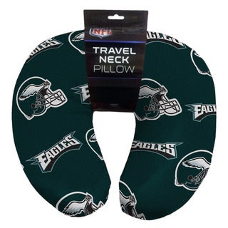 The Northwest Company NFL 117 Eagles Beaded Travel Neck Pillow