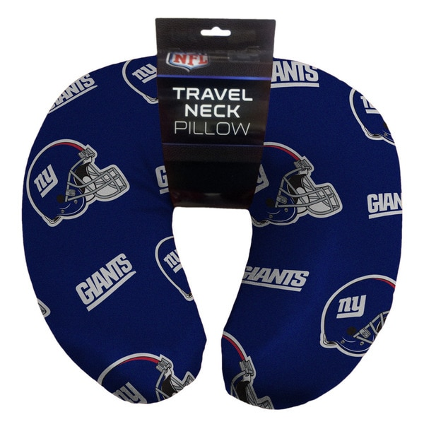 The Northwest Company New York Giants Beaded Neck Pillow