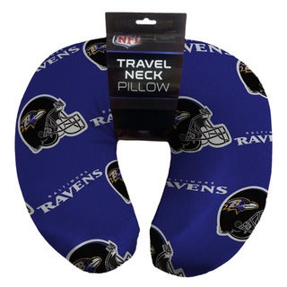 The Northwest Company NFL 117 Baltimore Ravens Beaded Neck Pillow