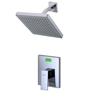 Digital Temperature Display LCD Back-light Thermal Shower Faucet