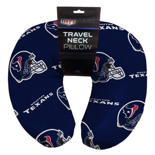 The Northwest Company NFL 117 Texans Beaded Neck Pillow