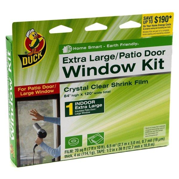 Duck Brand Indoor Window Shrink Film Insulator Kit (2-pack of Extra Large Window/Door)